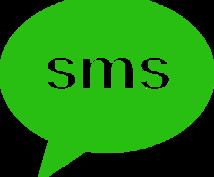 SNSなどに使うSMS認証の相談のります SMSの認証作業の相談のります