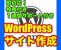 WordPressサイト設置を完全代行します 【2つの特典+1週間コンサル付き】起業、副業、アフィリエイト