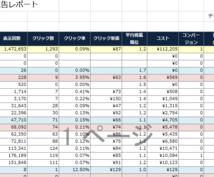 リスティング広告の自動集計レポートを提供します リスティング広告のデータを簡単に集計・分析したい方へ