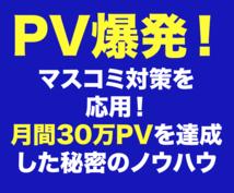 PV爆発!取材されるプレスリリース見分け方教えます サイトのアクセス数を増やしたい、AdSenseで稼ぎたい方へ