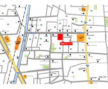 Illustratorで地図・マップ製作します チラシやウェブ用のアクセスマップをjpg、png、aiで納品