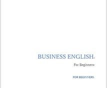 ビジネス英会話テキストと音声レッスンをお送りします 懇切丁寧なオリジナルテキストで初めてのビジネス英会話も安心!