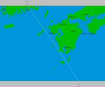 アストロ風水マップ【日本版】鑑定・作成します ◆あなただけの開運場所をお教えします。オリジナル鑑定書付き