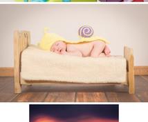 お昼寝アート‼︎準備から撮影まで全てします お子様の可愛いすぎる今を!お昼寝アートで写真に収めませんか♡