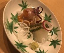 献立考えます 和食料理人が一週間分の献立を考えます