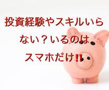 スマホ以外いらないバイナリー手法伝授します 副業収入に投資経験やスキルいらない手法を特別価格先着5名まで