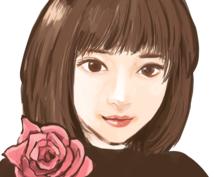 似顔絵描きます SNSのプロフィールなどにお使いいただけます。