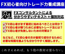 ココナラ限定でFX初心者のトレード力を向上させます FXトレーダーが初心者でも分かりやすいテキスト+個別で指導!