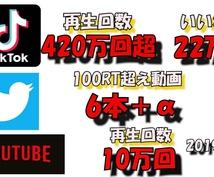 各種SNSで1.5万人超えの人に大々的に宣伝します 合計pv600万超の大型宣伝!YouTuberや企業様歓迎!