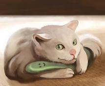 ペットのイラスト作成します 優しいタッチで、ペットのイラスト作成します。