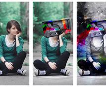 静止画像を加工・合成・レタッチいたします 画像の修正・加工をいたします。