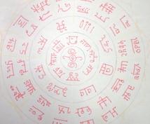 不思議な力を持つとされる龍体文字を書きます あなたの願望やお悩みをサポートする文字☆
