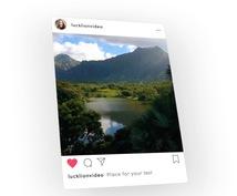 米国話題!InstagramアカウントCM作ります ファン数がぐんぐん伸びる!インスタアカウントのPV動画制作