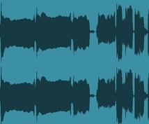 ノイズ除去承ります ノイズ除去、音量調整承ります!