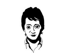 かっこいい白黒の似顔絵を描きます SNSのアイコンはもちろんビジネスでは名刺やロゴにもピッタリ