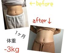 ダイエットの為の食材リスト提供します 運動する時間がない人は食事で痩せましょう!悩み相談もOK!