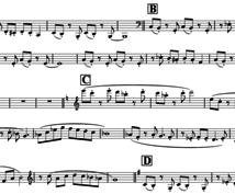 楽譜【メロディ】つくります アノ曲が弾きたい・吹きたい・歌いたい!