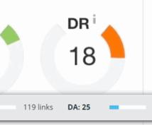 DR18,DA25のブログから自然に被リンクします 強めの被リンクが欲しい方におすすめ