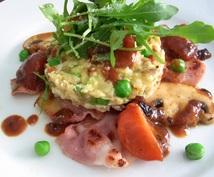 主婦業の方へ、TPO・コスト・食材に応じて料理のレシピを考えます。