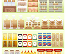 店頭・店内POP(A5単色x1枚)を作成します 〜商品陳列だけで商品は売れません〜