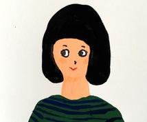 SNSのアイコンを手描きでPOPに描きます POPに手描きで似顔絵描きます