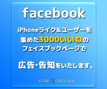 iPhoneアプリ・HP・製品の告知に最適!iPhoneユーザ3200人のタイムラインに宣伝します!