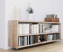 DIYなど家具の構造計算します たくさんの物を乗せたいけど壊れないか。積載可能重量算出します
