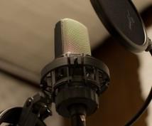ナレーション、一言メッセージなど録音します ちょっとした声の宣伝や動画ナレーションなどに