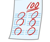 定期テストの振り返り・分析をお手伝いします 次回のテスト勉強やどういった復習をするかの参考にしてください