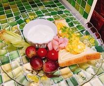 安くて美味しく【映える】朝ごはんを作るコツ教えます お安い材料で【ココロ目覚める朝ごはん】 みんなhappy!