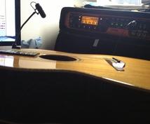 コンペ等のギターデータ納品承ります アーティスト様、作家様など生のギターを必要とされている皆様