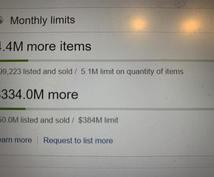eBayリミットアップ交渉代行します 422億円の出品枠を保有するセラーのリミットアップ代行!