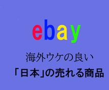 ebay 日本のオススメ商品を教えます ebayで売上が伸びない人や物販やりたい人向け