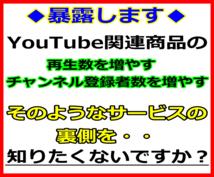 YouTube関連の商品販売者の方法を暴露します ココナラで販売しているYouTube関連の商品は裏があります