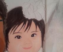 【1日限定3名様】写真をもとに似顔絵をお描きします人物、背景もあり