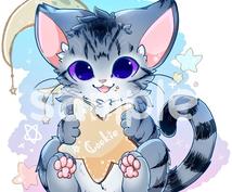 猫のイラスト描きます アイコンイラストを探している方にオススメ!