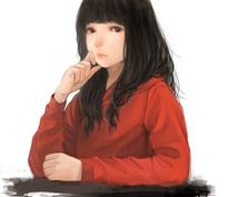理想の女の子を描きます