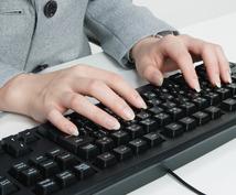 データ入力、商品登録、事務作業なんでもお受けします 事務歴15年!事務作業おまかせください。
