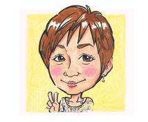 色鉛筆で優しくかわいいタッチ☆ 似顔絵、描きます お誕生日や結婚のプレゼント〜SNSアイコンまで用途いろいろ☆