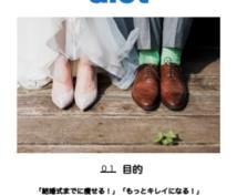 結婚式!式の準備で忙しいあなたを「美」に導きます 【エピソード1.ウェディング】2ヶ月ボディデザインサポート!