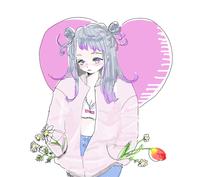 おしゃれ可愛い女の子のイラスト描きます 個人鑑賞にも、商用利用にもおすすめ♡