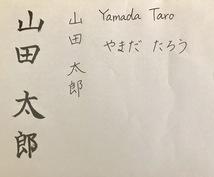 綺麗な字の書き方教えます 結婚式の署名など、周りの人に字を見られる時のために!
