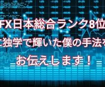 FX日本総合ランク8位に輝いた手法を教えます 2019年こそは結果を残したいあなたに向けて!