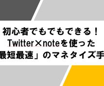 本気でTwitter×noteの販売戦略を教えます Twitterフォロワーが少なくてもできるマネタイズ方法!