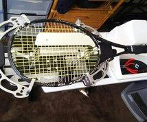 テニスのガット交換します テニスラケット(硬式)ガット交換します。