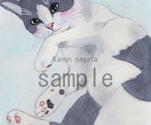 水彩☆可愛いペットのイラスト描きます 待ち受けにしたり、プリントして飾ることも出来ます!