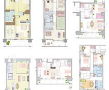 3Dマイホームデザイナーで間取り図作ります 手書きの間取り図を綺麗な間取り図にしたいかた。