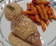 お料理の盛り付けをアドバイスします お料理を美味しく見せたい方へ!