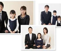 幼稚園・小学校・中学校お受験用証明写真撮影します 親の入試と言われる受験写真でイキイキとした表情を残します。