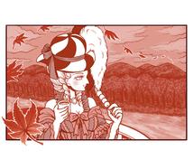 上品な雰囲気の女性のカット絵を描きます レトロでおしゃれな感じの大人の女性